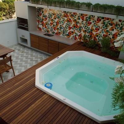 Residência Jardim Botânico 02 - Varanda Gourmet no Rio de Janeiro