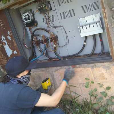 restauração entrada de luz padrão de 99-(KVA)