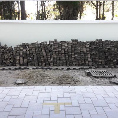 Correção do piso paver do Condomínio Via Vecchia, Jurerê Internacional