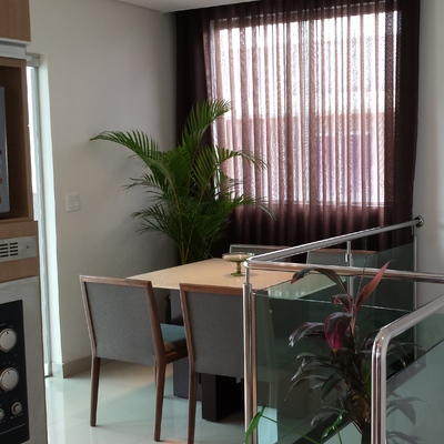 Integração sala e cozinha em Belo Horizonte