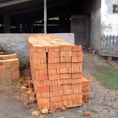 tijolos maciços