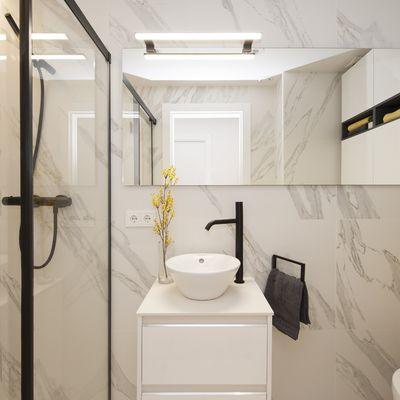 5 acabamentos para o banheiro