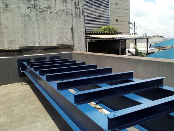 Estrutura metalica - Estação São Judas - SP