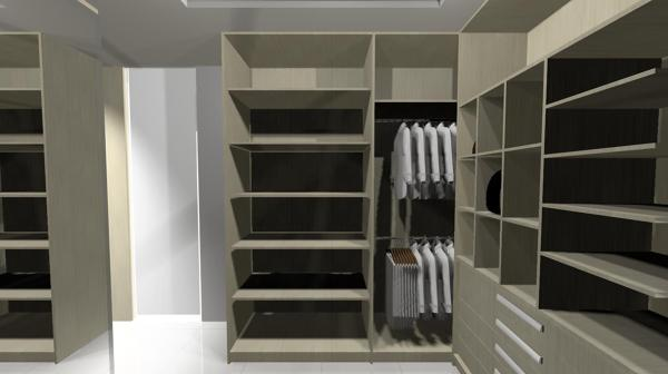 Suite casal com closet 13