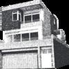 Arte gráfica da fachada