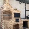 Construção de fogão e forno á lenha
