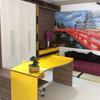 Conjunto Quarto Jovem - Mesa de estudos com armário e espaço oriental