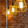 Detalhe luminária pendente