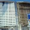 Estrutura para edifício Residencial em 02 torres  e com 18 pavimentos e 2 subsolos, cada