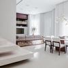 Metrik Design - Arquitetura e Interiores - Living e espaço gourmet integrados
