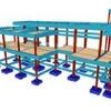 Modelagem de estrutura projetada para prédio comercial