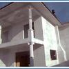 Pintura da Casa do Júnior Palhoça em estágio inicial
