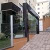 Nova Portaria em vidro temperado e granito