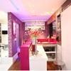 Projeto de Interiores do Salão rosa/ Espaço de Noivas