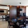 projeto de interiores, revestimento de madeira na sacada