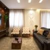 Sala de TV com luz
