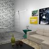 Decoração sala para dois ambientes - sala estar e jantar