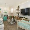 Sala estilo praiano