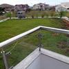 Telhado verde de fundos
