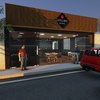 Construção de um restaurante