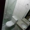 WC de serviço, tranformado em WC de visita.