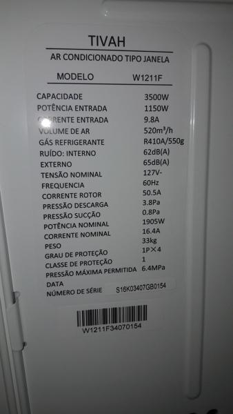 Qual fiação necessária para ar condicionado de janela 110v?