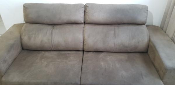 Quanto custaria uma reforma de sofá de 1.9 metro de largura para 2 lugares e reclinável, que foi danificado por cigarro?