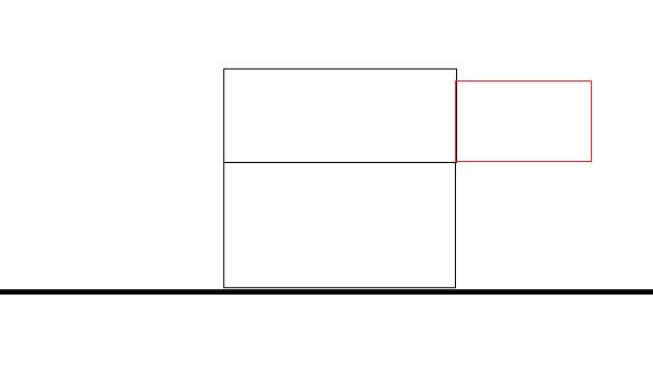 O morador do andar superior pode construir na parte em frente da casa?