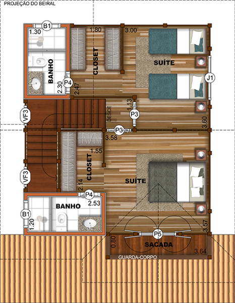 Quanto custaria construir uma casa pré-fabricada de madeira?
