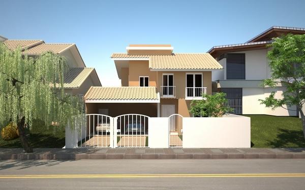 Qual o tamanho do lote para este modelo de casa?