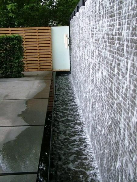 Como foi feita essa cascata?