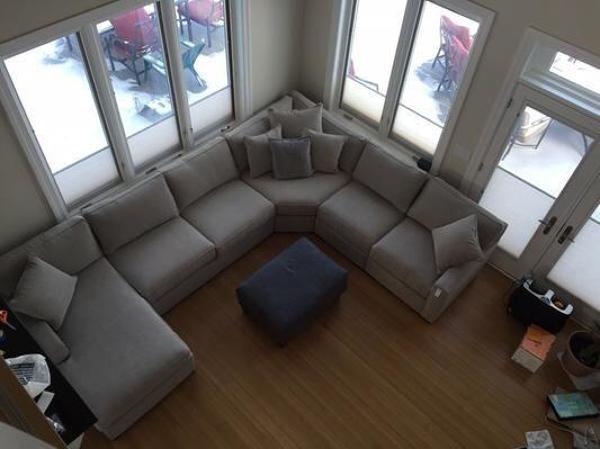 Quanto custaria para fazer um sofá como o da foto?