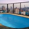 Construir piscina de fibra para cobertura
