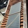 Retirada de placas solares e sua recolocação