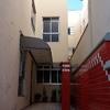 Instalação de placas cimentícias em fachada alta
