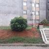Fechamento da área de entrada do prédio