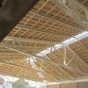 Construção de cobertura em estrutura metalica