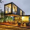 Construcao casa containers