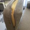 Troca de espuma de almofadas do assento