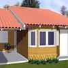 Construir  casa pré fabricada, em madeira, concreto, ou outro material