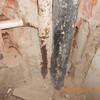 Substituir tubos de descida em edifício residencial