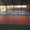 Construção de uma quadra de futsal
