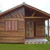 Contruir casa pré-fabricada em madeira