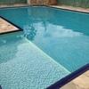 Troca do vinil da piscina