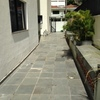 Reforma de piso externo de condomínio com aproximadamente 480 m²