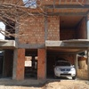 Carpintaria construção de telhado novo
