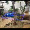 Construção de piscina de alvenaria estruturada