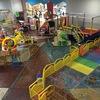 Limpeza de loja parque de diversão