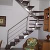 Fabricar escada de inox ou ferro modelos espinha de peixe