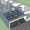 Fazer cobertura com painel solar